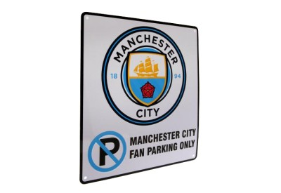 Cedule Manchester City FC Fan Parking Only